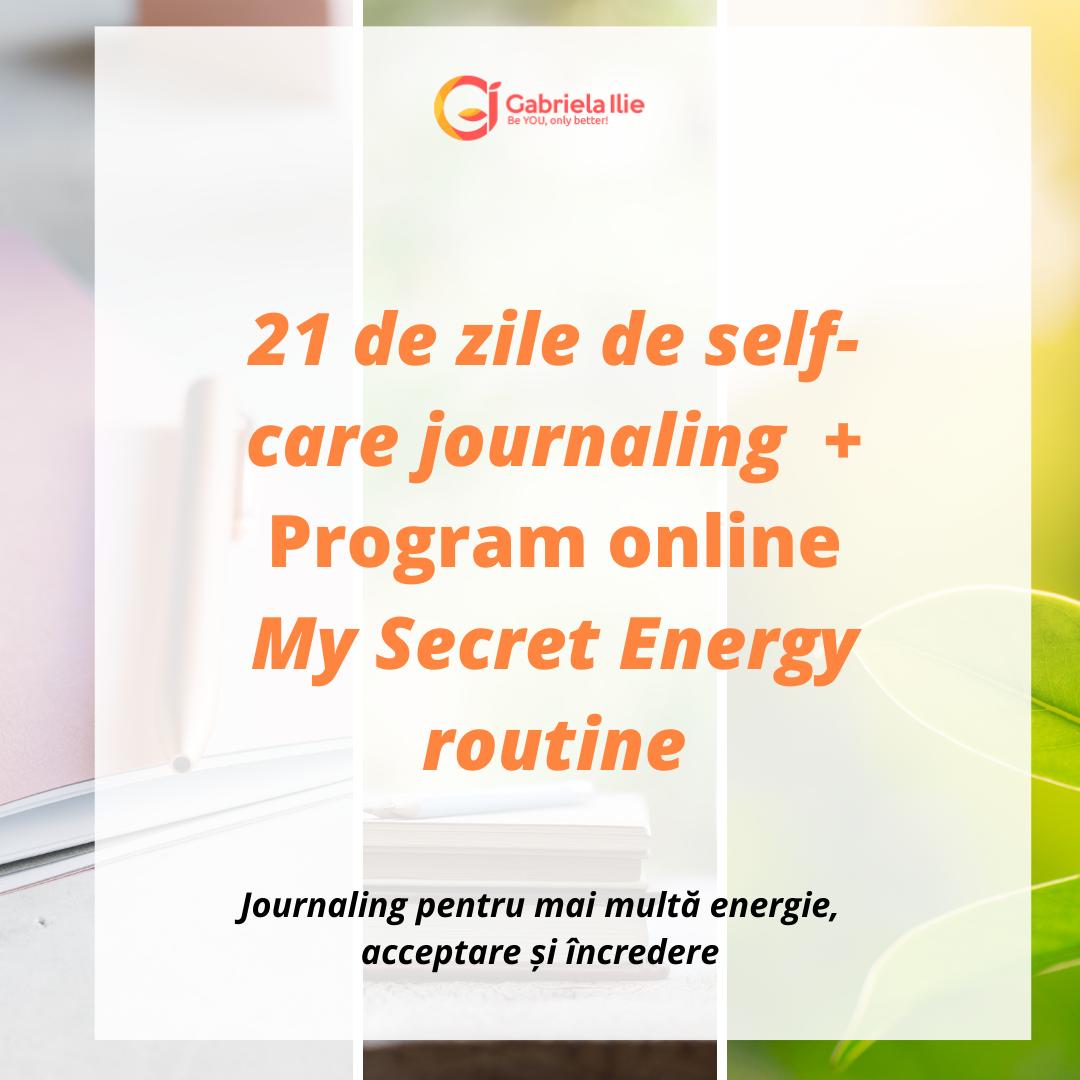 journaling energie